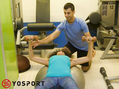 אימון בחדר הכושר מספק המון אפשרויות ומכשירים