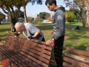 אימון כושר בפארק מאפשר גיוון