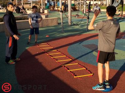אימון כושר לילדים תוך כדי משחק