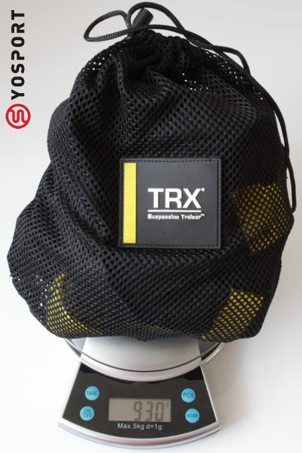 רצועות ה- trx שוקלות רק 930 גרם