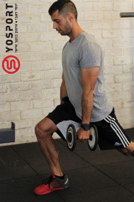 מאמן כושר מבצע מכרע מתוך מאמר לאתר ynet - אימון לרגליים שריריות