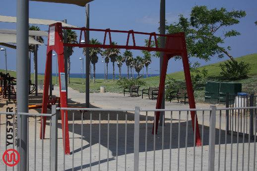 מתקן האימון בפארק מדרון יפו
