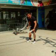 תרגילים עם battle rope