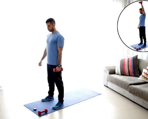 וידאו לאתר ynet - אימון גוף מלא ב-12 דקות בלבד