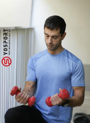 להתאמן עם משקולות קלות ולבצע הרבה חזרות בכדי לשפר את התחושתיות
