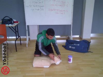 בובת החייאה בקורס רענון עזרה ראשונה