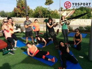 אימון כושר קבוצתי לנשים בראש העין
